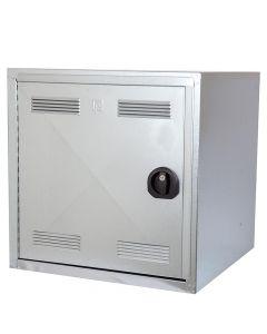 Caja plegable Peetz galvanizado 60x60x60cm.v / sillín