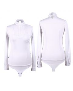 Camiseta de competición QHP Body Belle White