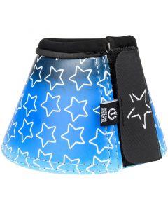 Botas de campana de montar imperiales Estrella caída Estrella azul marino