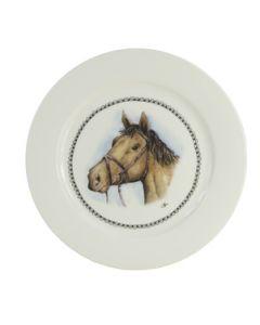 Granja tienda plato de desayuno 21cm caballo