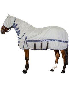 Imperial Riding Alfombra Fly UV con cuello, máscara y solapa para el vientre