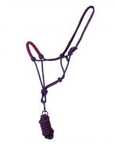 QHP Conjunto de cabestro de cuerda