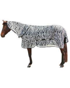 Hofman Manta de mosca Zebra con pieza para el cuello