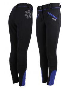 QHP Pantalones de montar Ice