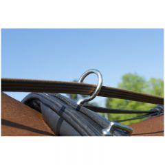 Arnés de llaves flexible alto acero inoxidable completo