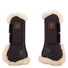 Botas de tendón de piel de oveja imitación Snuggle