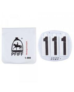 PFIFF Números de brida 3 dígitos