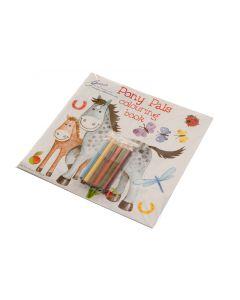 Libro de rompecabezas y de colores de caballos 'Pony Pals'
