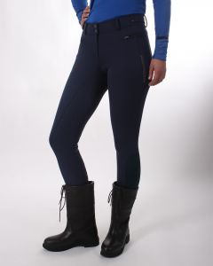 QHP Pantalones de montar softshell Aylinn asiento antideslizante