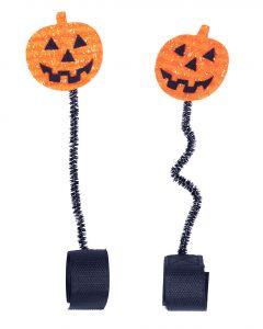 QHP Accesorio para la cabeza Calabaza de Halloween
