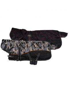 QHP Manta para ejercicio de 300 gram con cuello fijo