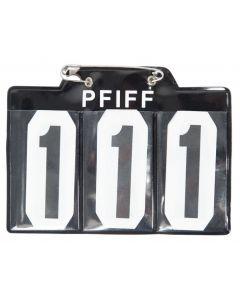 PFIFF Número de inicio para schabrak