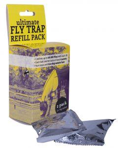 QHP Recambio de trampa para moscas 2-pack Amarillo