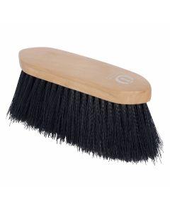 Imperial Riding Cepillo elegante con pelo largo de nailon y dorso de madera
