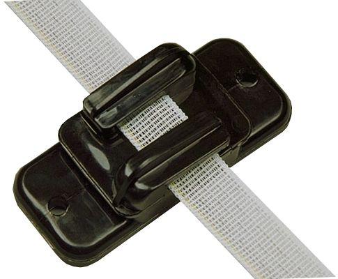 Hofman Aislante cinta / cable / alambre negro a 20 mm