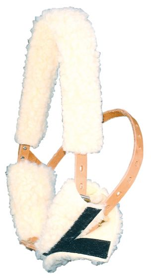 Harry's Horse Jaw / piel delantera para Miracle halter beige
