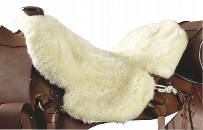 PFIFF Forro de saddlebone occidental de piel de cordero.