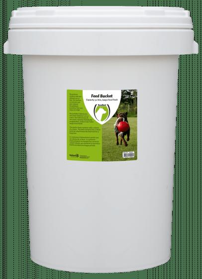Hofman Barril de alimentación con cierre giratorio 52 litros