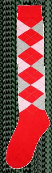 Excellent Calcetines hasta la rodilla RE rojo / rosa / gris 43-46