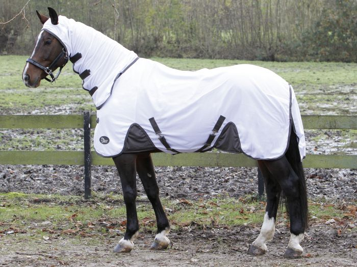 Harry's Horse Manta protectora de moscas con cuello